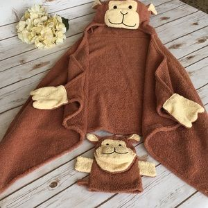 Other - Hooded Towel & Hand-cloth
